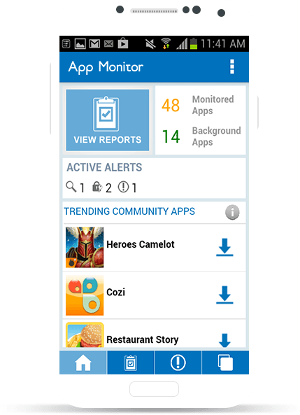 M2 App Monitor for Android