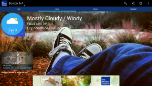 The Weather Channel is a popular Android app for weather_M2AppMonitor