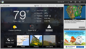 WeatherBug is a popular weather Android app for M2AppMonitor community