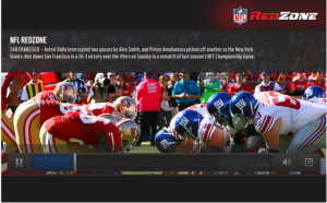 NFL Mobile Android App in M2AppMonitor Football Report