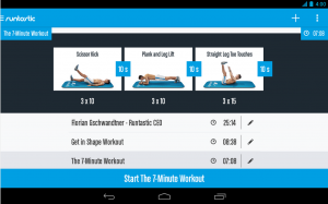 Runtastic Six Pack Android Fitness App_M2AppMonitor Approved
