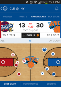 CBS sports is popular Android sports app M2AppMonitor