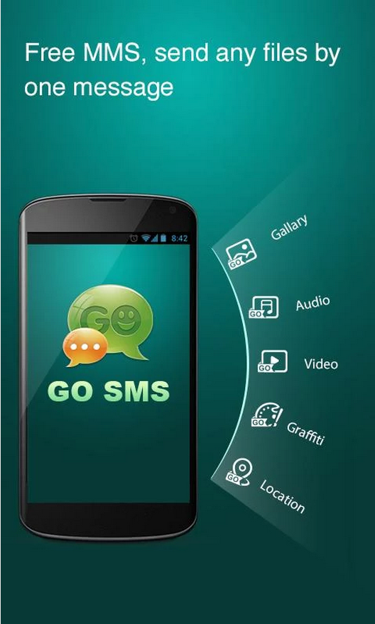 Download go sms pro free (android)