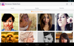 Ok Cupid is a popular Android dating app in M2AppMonitor global Android app report