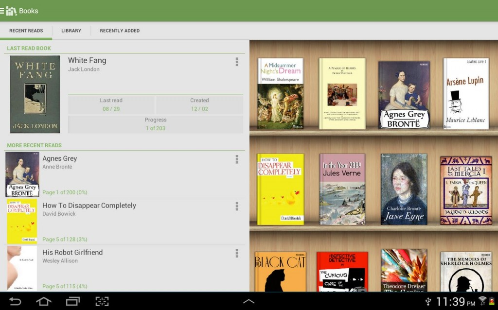Alkido Book Reader is a highly used Android ereader app M2AppMonitor report