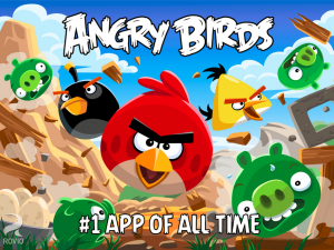 Angry Birds Android battery drain rate