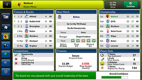 Football Manager Handheld 2014 Android Game