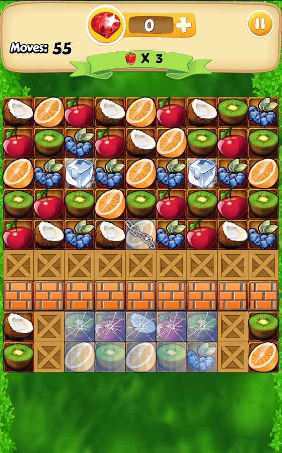 Fruit Bump Android game