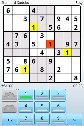 Super Sudoku Android Game