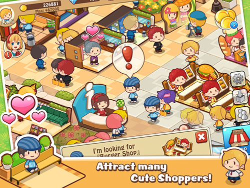 Happy Mall Story Android game battery drain