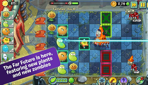 Plants Vs Zombies 2 Android battery drain