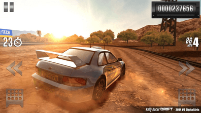 Rally Racer Drift Android racing games CPU usage