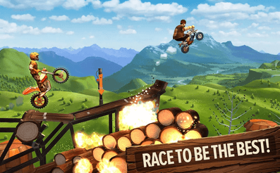 Trials Frontier CPU usage Android Racing games