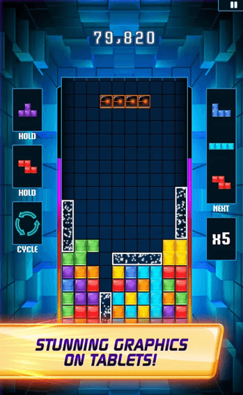 TETRIS Blitz is great battery saving Android puzzle game